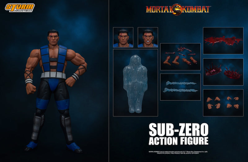 Storm Collectibles – Mortal Kombat Unmasked Sub-Zero 1/12th Scale Figure