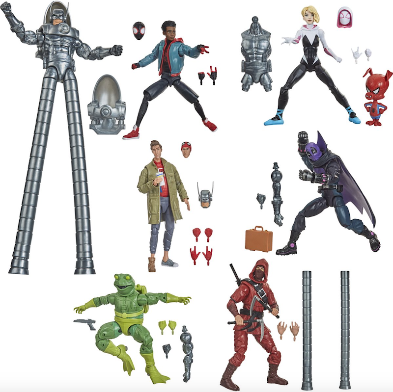 Entertainment Earth – Hasbro Marvel Legends 6″ Spider-Man: Into The Spiderverse Wave 1 Figures In-Stock