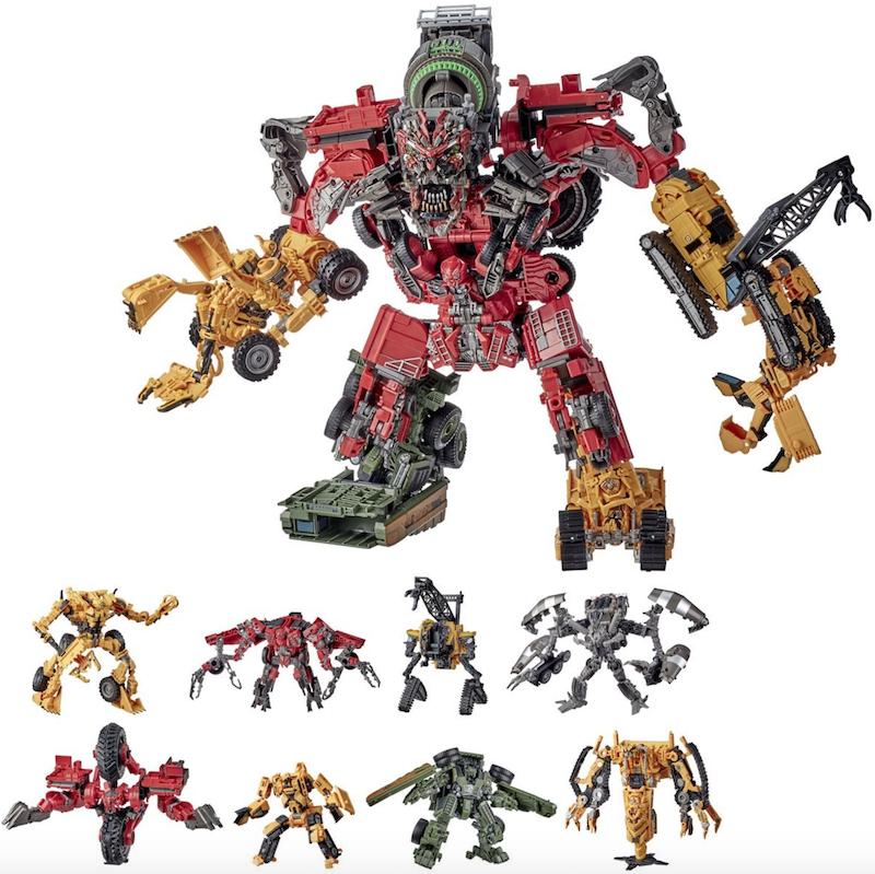 Entertainment Earth – Transformers Studio Series Revenge of the Fallen Devastator Set In-Stock