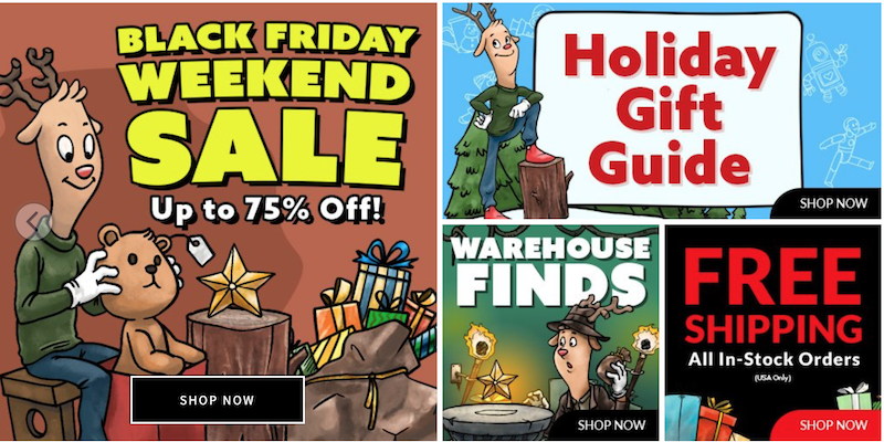 Entertainment Earth – Black Friday Weekend Sale 2020 – Up To 75% Off