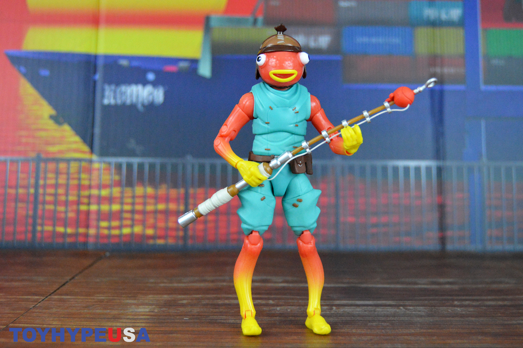 Jazwares Fortnite Legendary Series 6″ Fishstick Figure Review