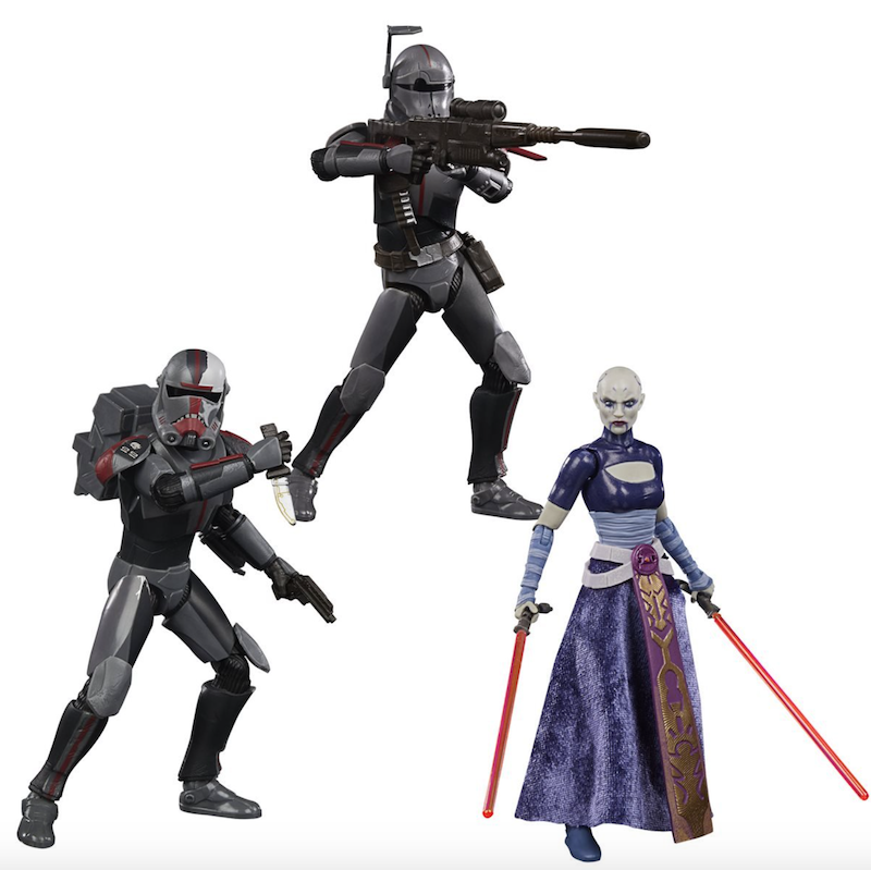 Hasbro Star Wars The Black Series Hunter, Crosshair & Asajj Ventress Figure Pre-Orders