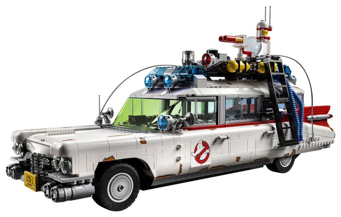 LEGO Announces Ghostbusters: Afterlife Ecto-1 Vehicle