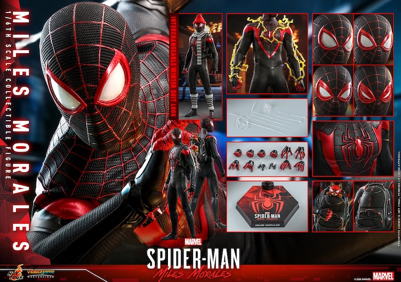 Hot Toys Miles Morales Sixth Scale Figure Pre-Orders