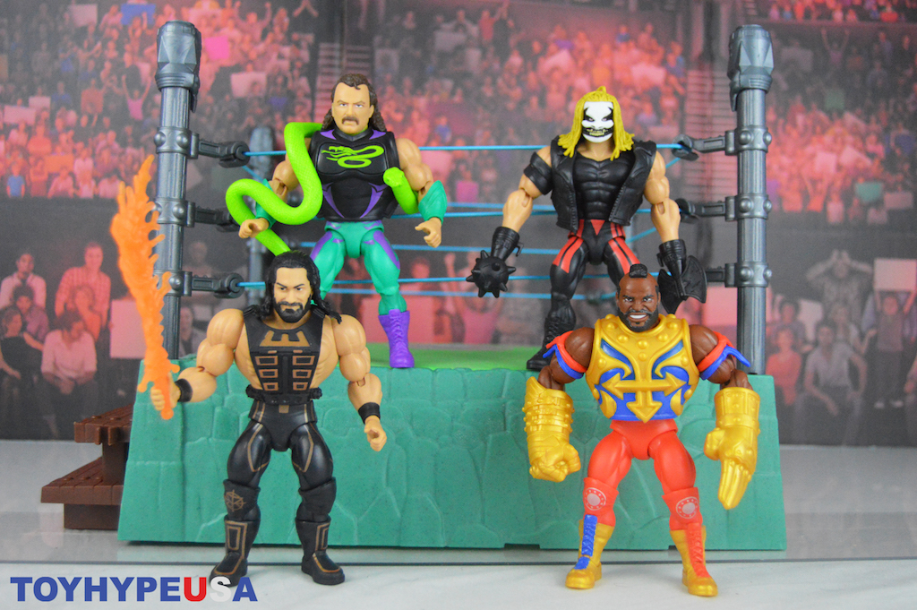 Mattel – Masters Of The WWE Universe Wave 4 Figures Review