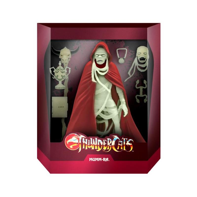 BigBadToyStore Exclusive – ThunderCats Ultimates Glow-In-The-Dark Mumm-Ra Figure In-Stock