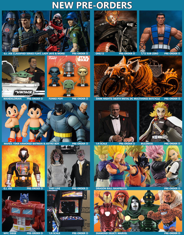 BigBadToyStore News –  Black Friday, G.I. Joe, Star Wars, DC Multiverse, Ghost Rider, Demon Slayer, MAFEX, Mortal Kombat, DBZ & More