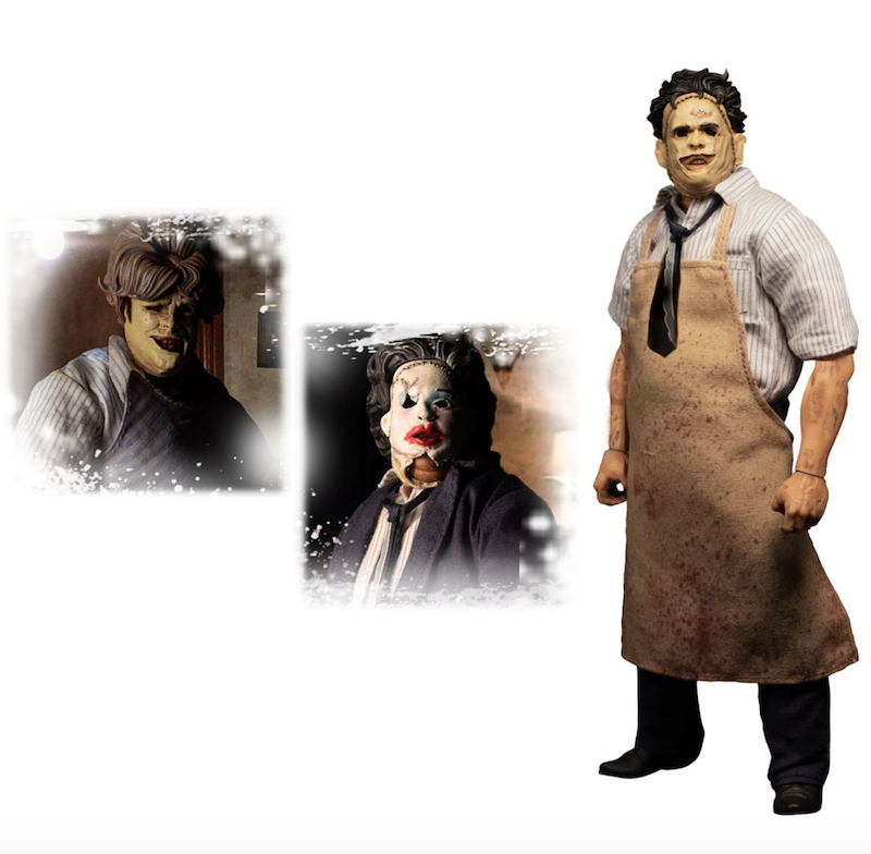 Mezco Toyz – The Texas Chainsaw Massacre (1974): Leatherface One:12 Collective Deluxe Edition Figure Pre-Orders