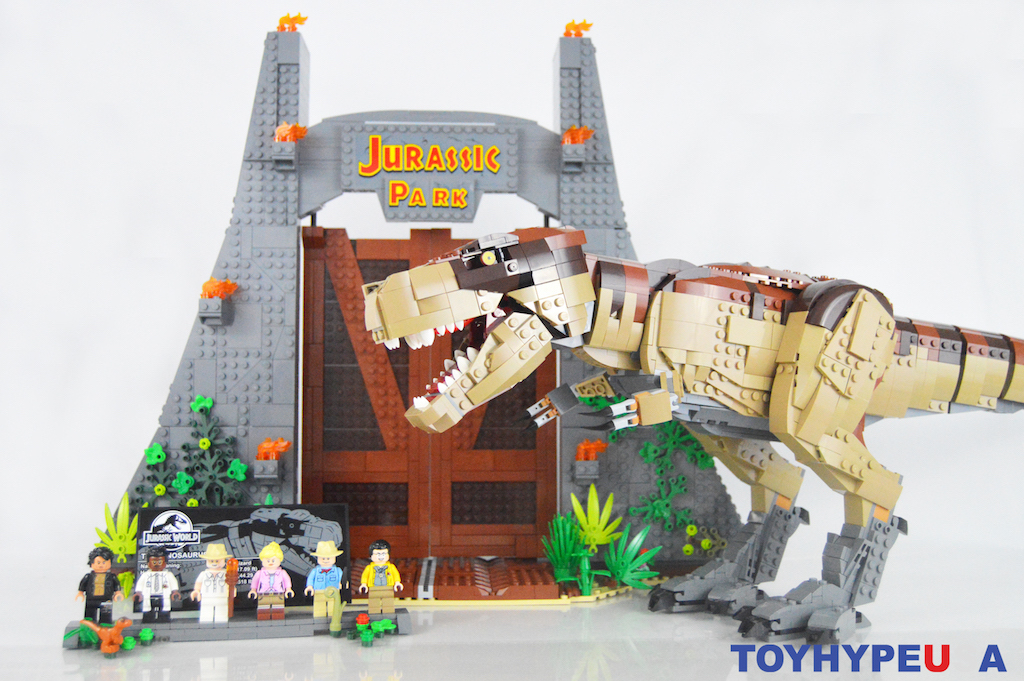LEGO Jurassic Park 75936 T. Rex Rampage Set Review