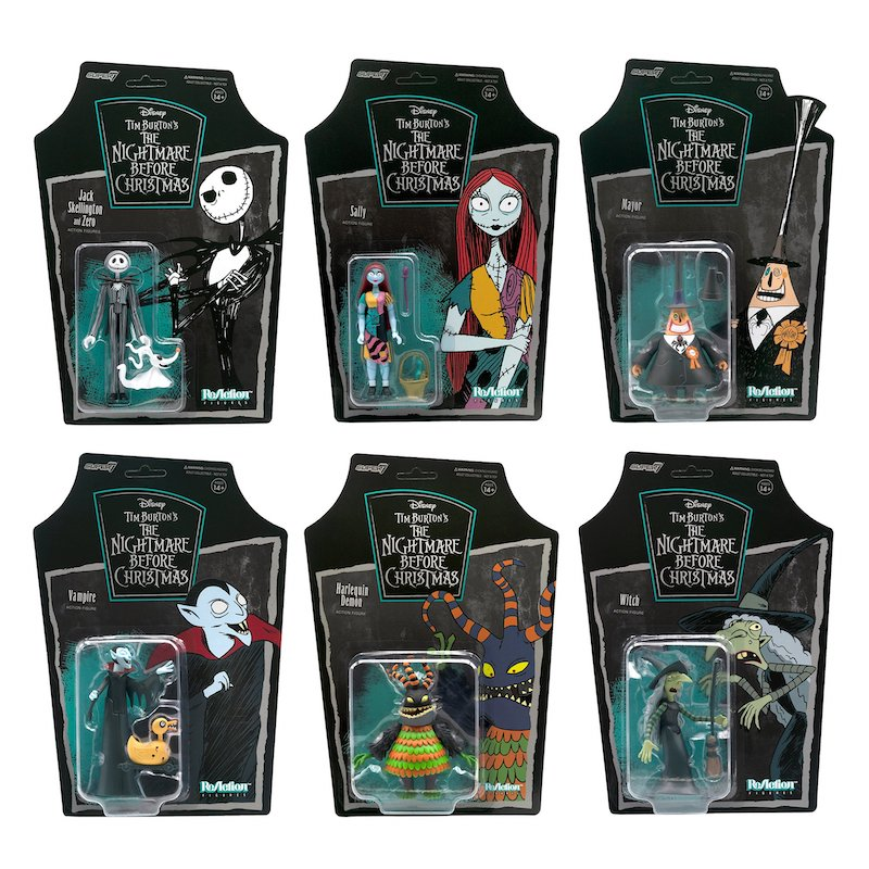 Super7 – The Nightmare Before Christmas ReAction Figures Series 1