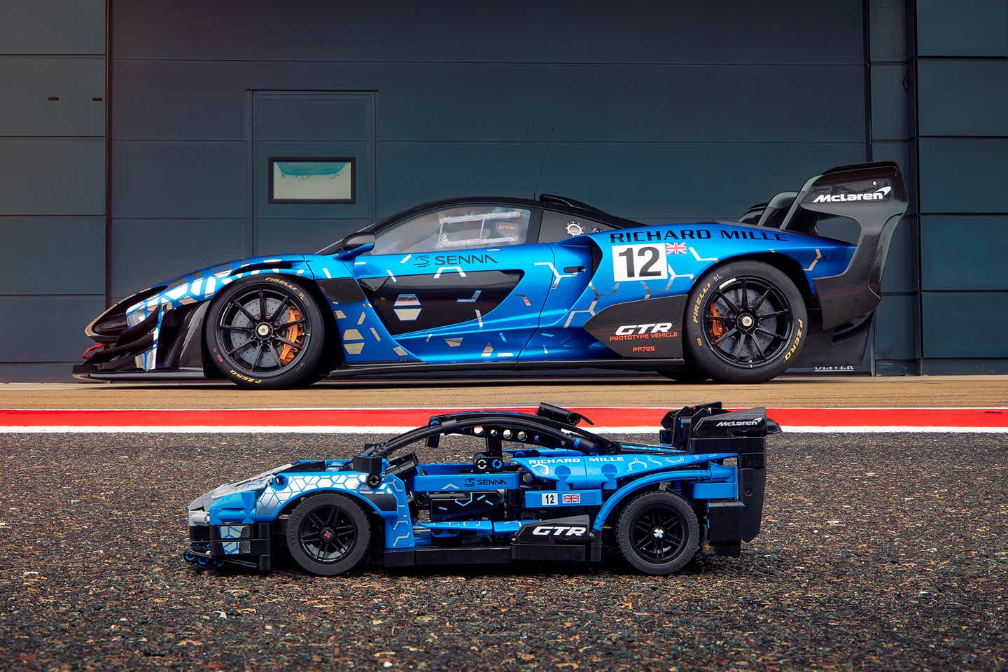 LEGO Technic McLaren Senna GTR Set Revealed