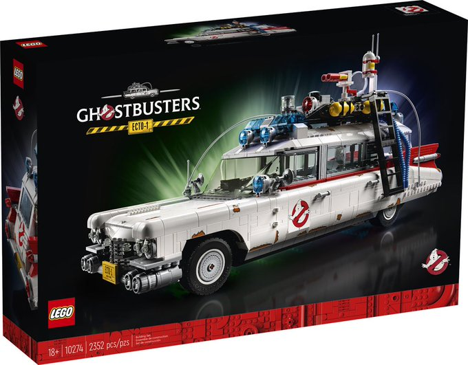 LEGO Ghostbusters: Afterlife Ecto-1 Vehicle Available Now