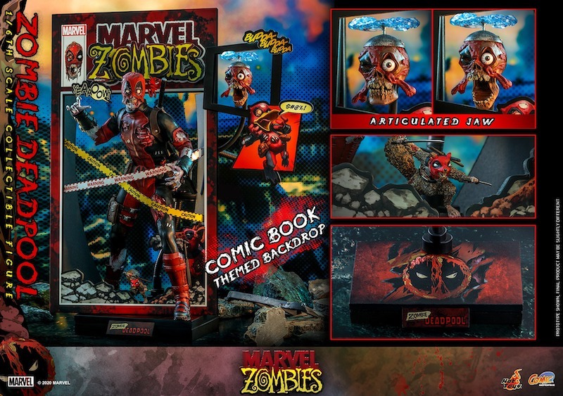 Hot Toys Marvel Zombies – Deadpool Sixth Scale Figure Pre-Orders
