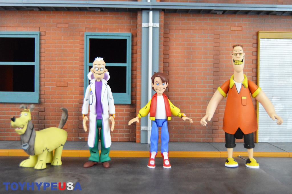 NECA Toys Back To The Future Toony Classics 6″ Figures Review