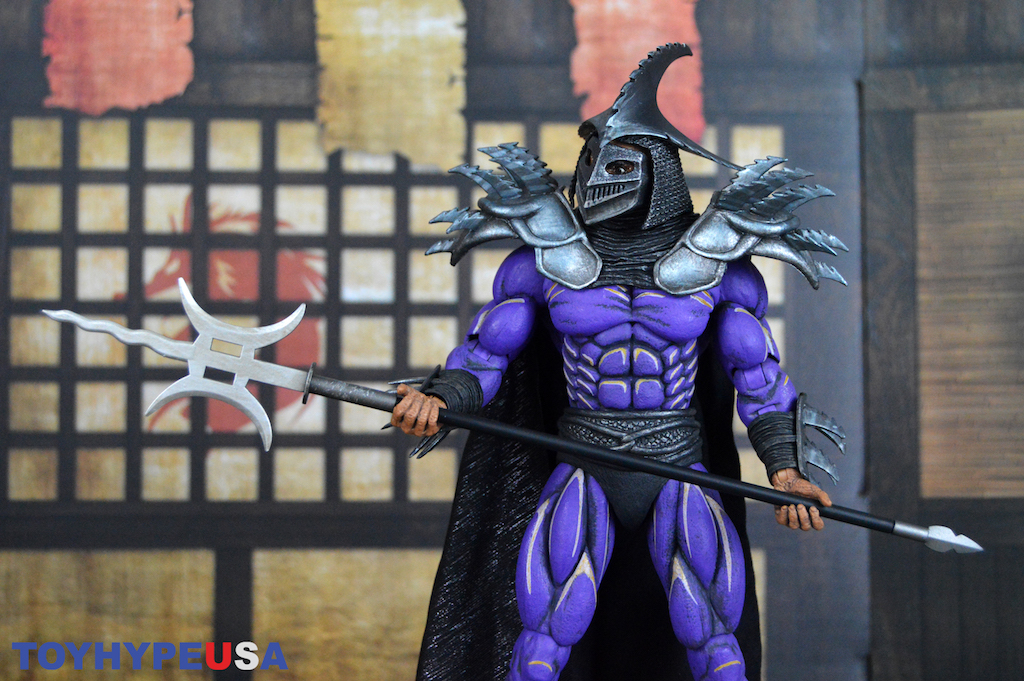 NECA Toys Teenage Mutant Ninja Turtles II: The Secret of the Ooze Super Shredder Deluxe 7″ Scale Figure Review