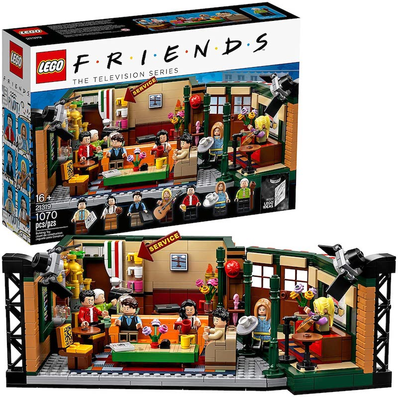 LEGO Ideas 21319 Friends – Central Park Set Now $47.99