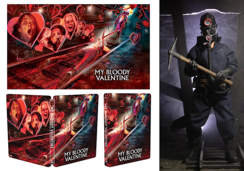 """NECA Toys Shout Factory Exclusive My Bloody Valentine """"The Miner"""" Figure"""