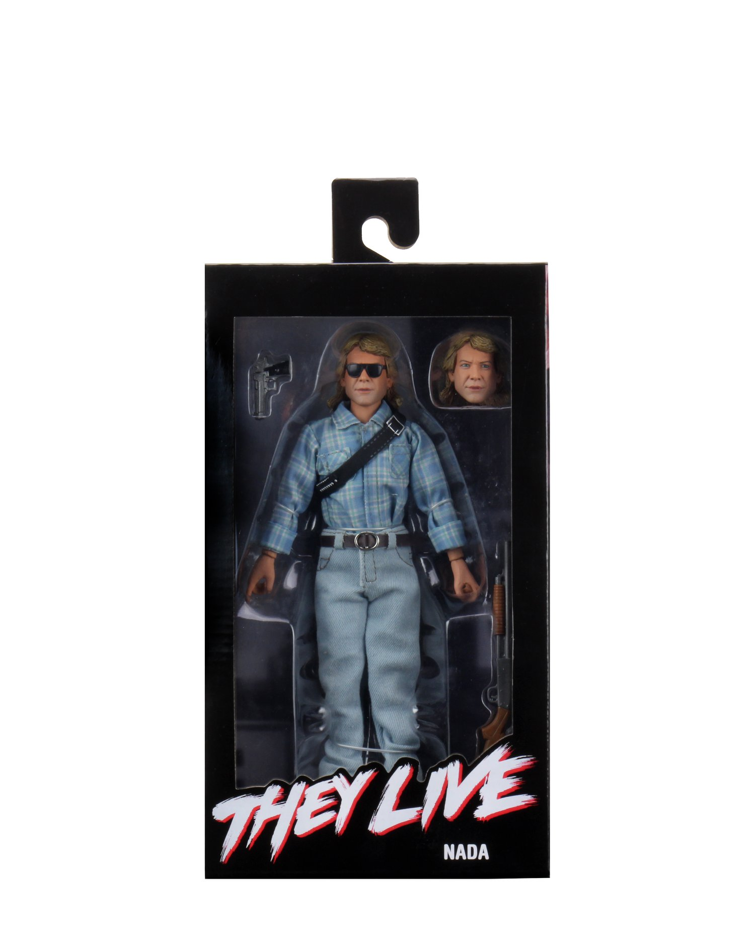 NECA Toys They Live 8″ Clothed John Nada Figure In-Packaging