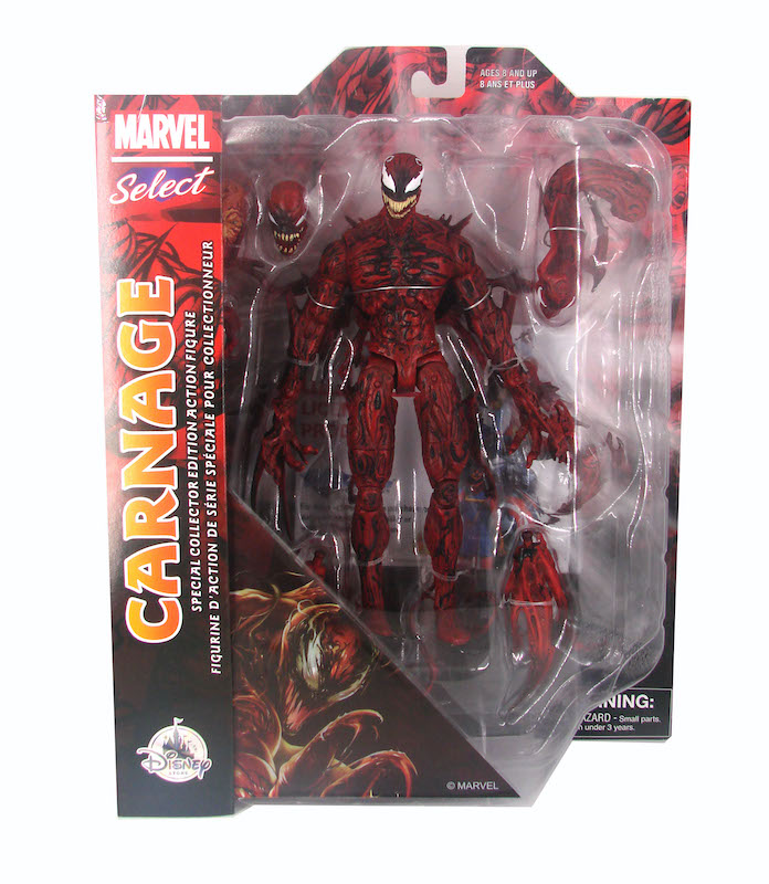Marvel Select Carnage & Venom Figures At The Disney Store