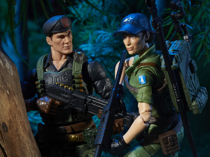 Hasbro G.I. Joe Classified Flint & Lady Jaye Figure Pre-Orders