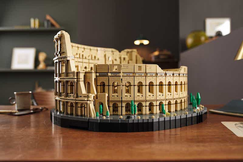 The LEGO Group Launches Roman Colosseum Its Largest Brick Set Ever