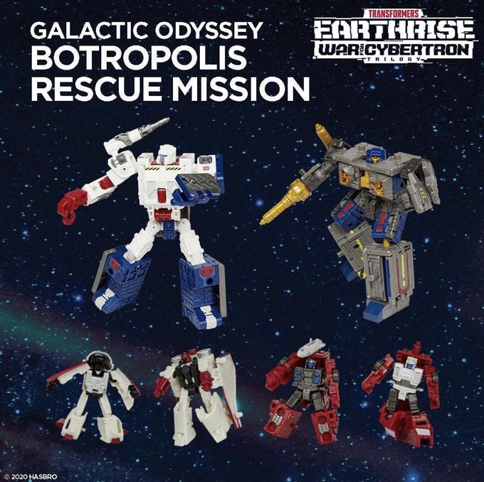 Hasbro Transformers WFC Earthrise Galactic Odyssey Botropolis Set In-Stock On Amazon