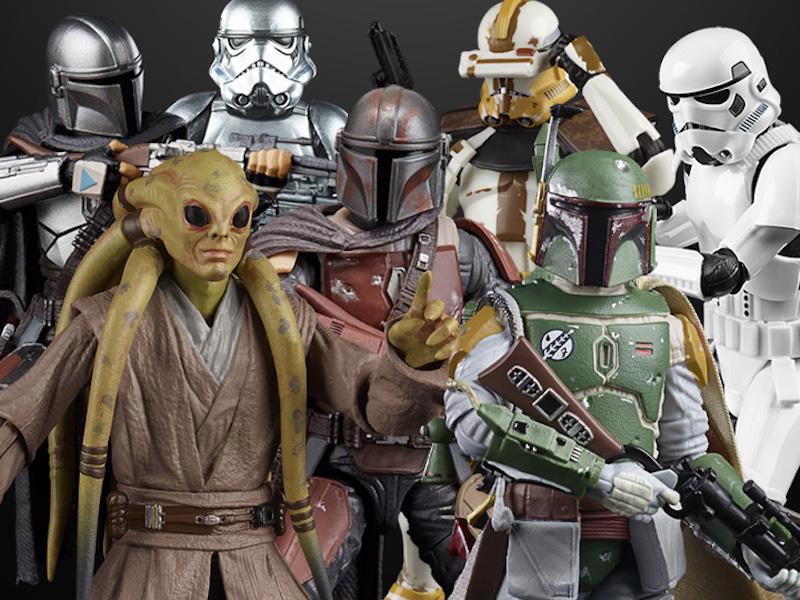 BigBadToyStore – Star Wars TBS 6″ Kit Fisto, Clone Trooper (Kamino), The Mandalorian & More In-Stock