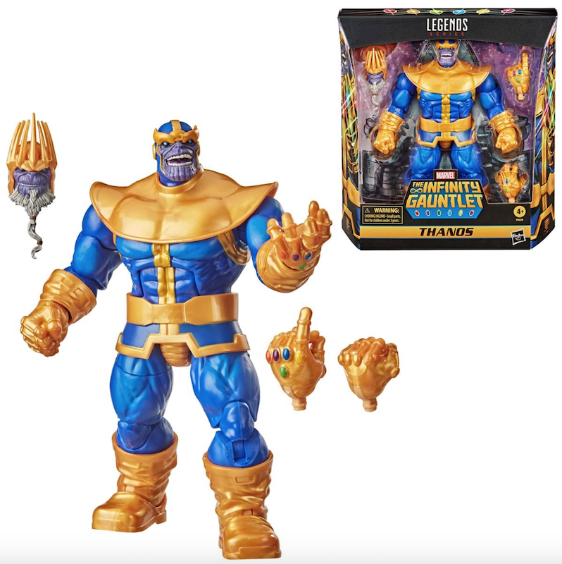 Hasbro Marvel Legends Series 6″ Thanos Figure Pre-Orders