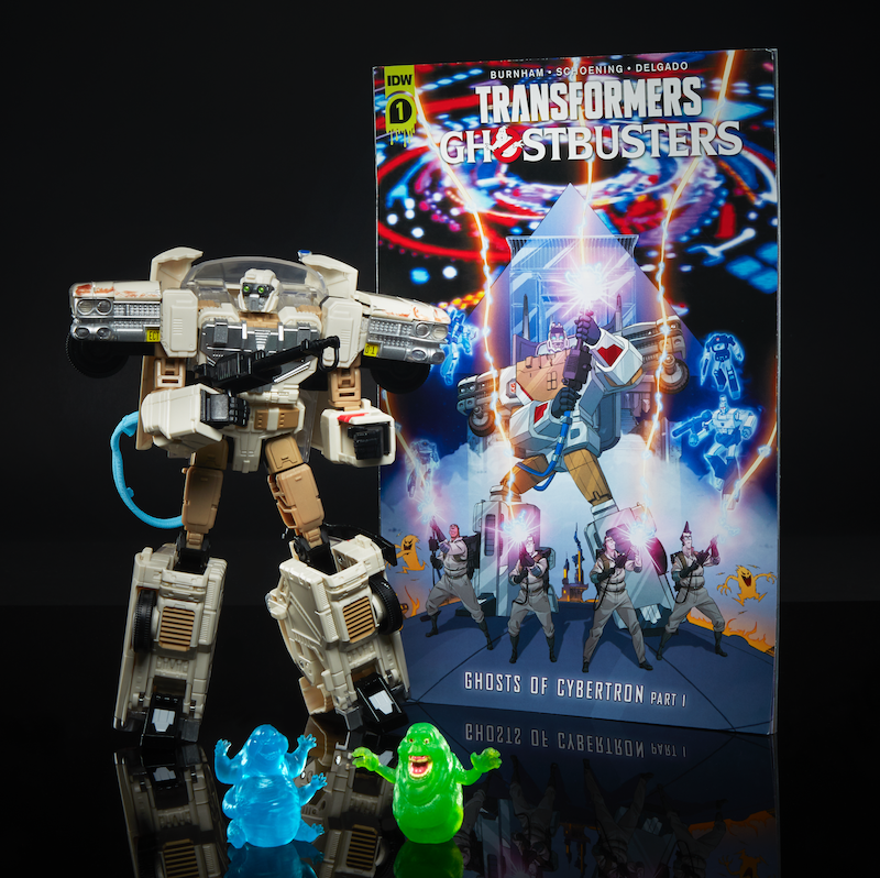 Hasbro Transformers x Ghostbusters & Studio Series Figures Revealed