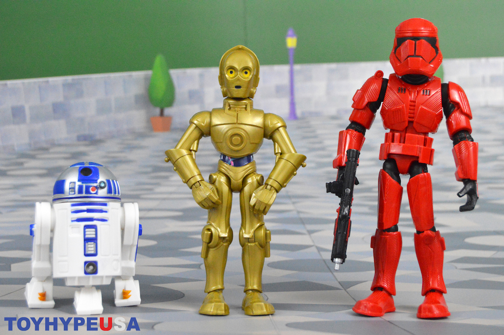 Disney Store Exclusive – Star Wars Toy Box C-3PO & R2-D2 Figure Set & Sith Trooper Figures Review