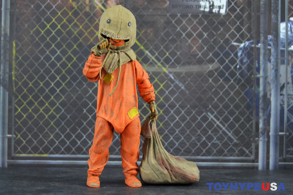 NECA Toys Trick 'r Treat 7″ Scale Ultimate Sam Figure Review