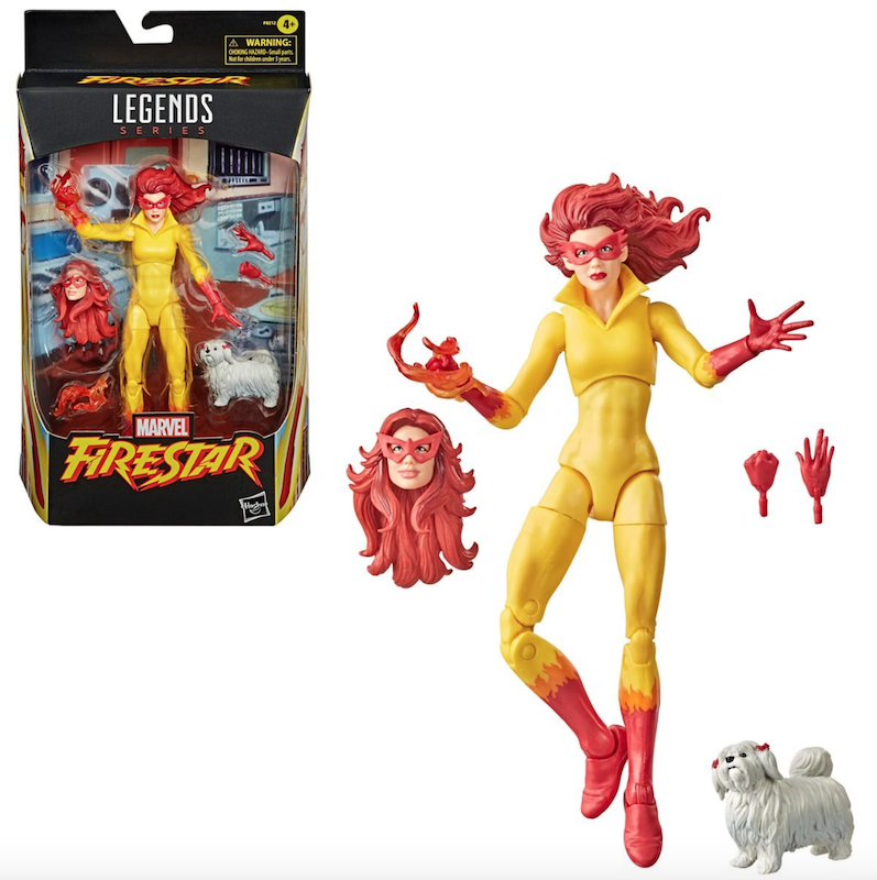 Hasbro Marvel Legends 6″ Firestar Figure Pre-Orders