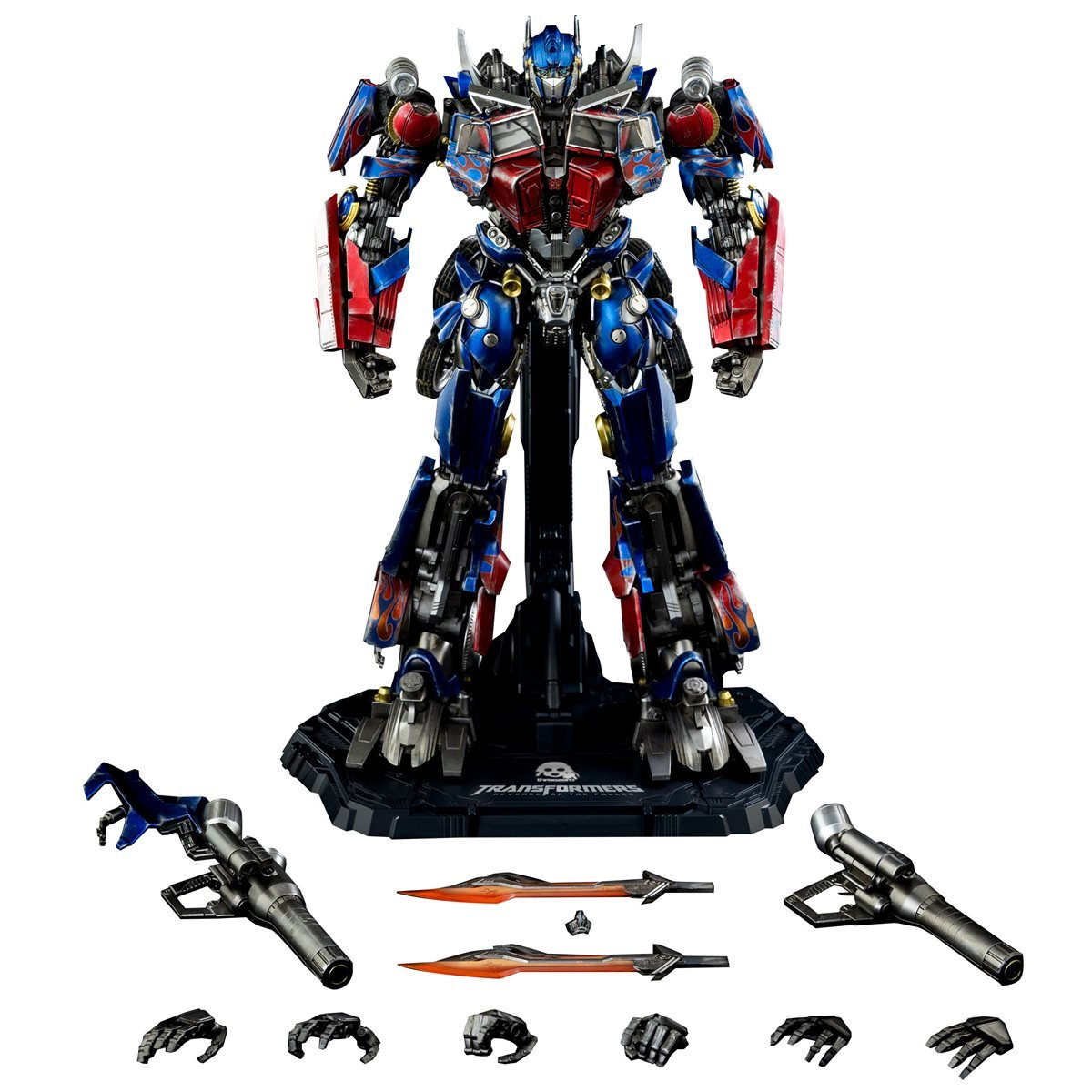 Transformers: Revenge of the Fallen Optimus Prime DLX Figure Pre-Orders