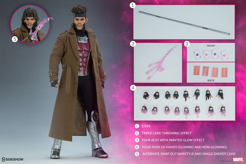 Sideshow Collectibles Marvel Comics – Gambit Sixth Scale Figure Pre-Orders
