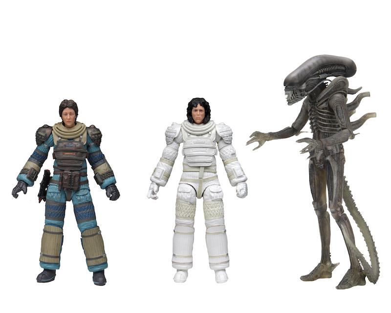 NECA Toys Alien 40th Anniversary Wave 4 Figures