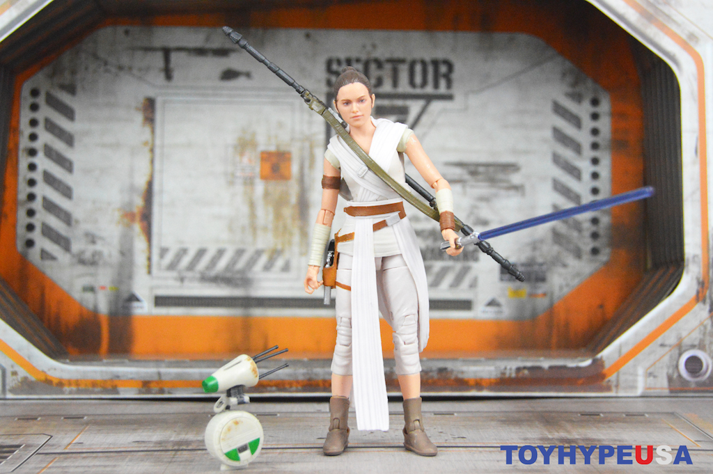 Hasbro Star Wars The Black Series 6″ – The Rise Of Skywalker Rey & D-0 Figures Review
