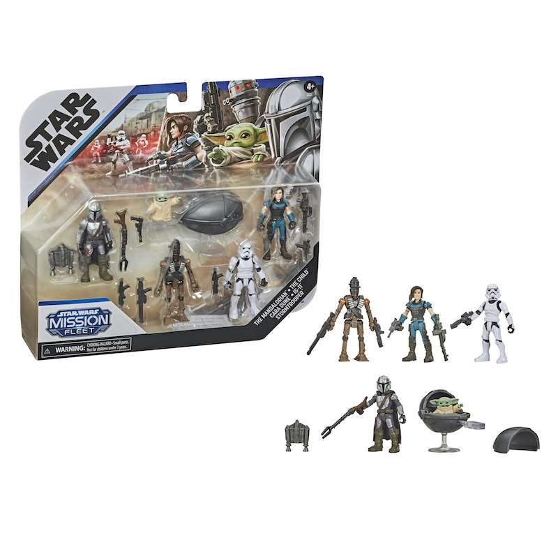Hasbro Star Wars Mando Monday NERF The Mandalorian & Star Wars Mission Fleet Packs Revealed