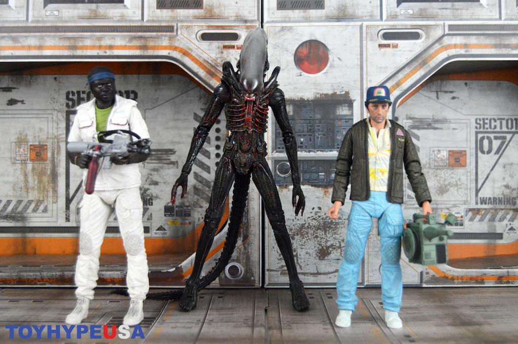 NECA Toys Alien 40th Anniversary Series 2 Figures Review
