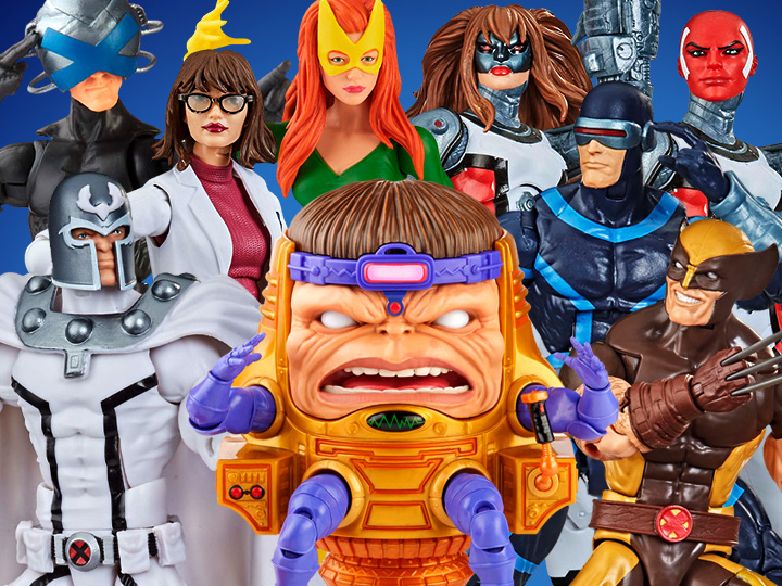 Hasbro Marvel Legends Fan First Friday Reveals – X-Men: House Of Powers Of X, M.O.D.O.K, Deadpool & Silver Surfer