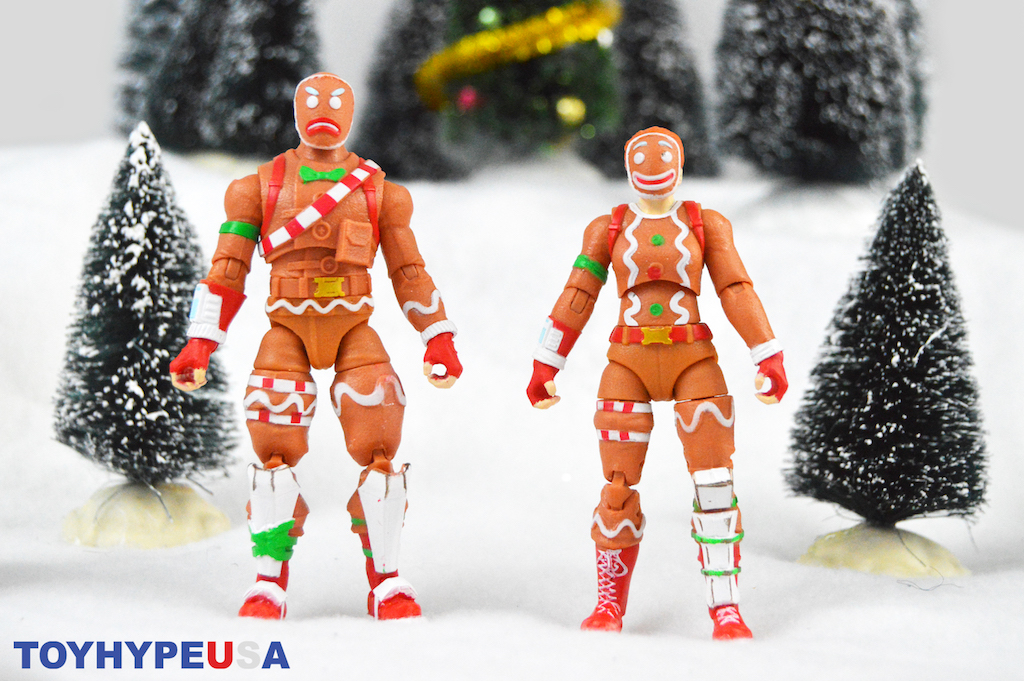 Jazwares – Fortnite Gingerbread Set Target Exclusive Figure 2-Pack Review
