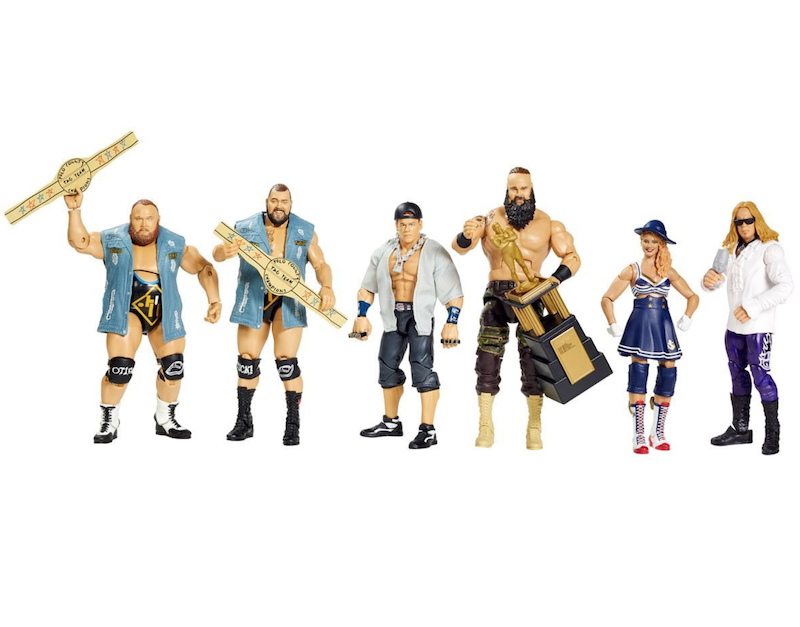 Entertainment Earth Re-Opens WWE Elite Collection Series 71 & 76 Figure Pre-Orders
