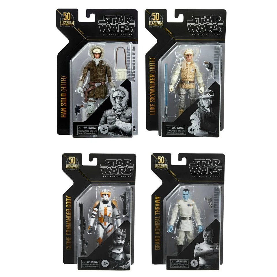 Hasbro Star Wars The Black Series 6″ Archive Collection Wave 3 Figure Pre-Orders