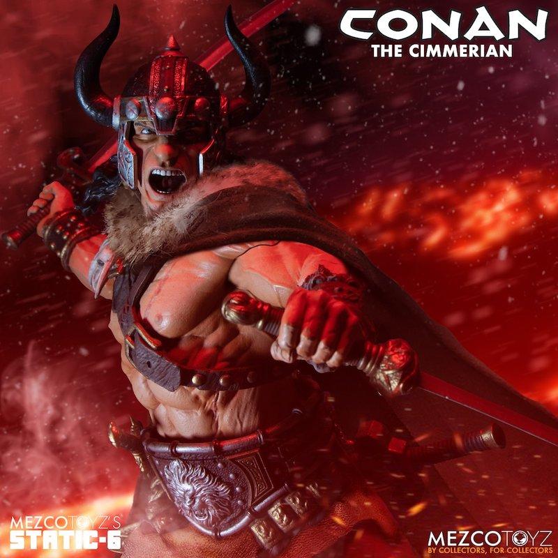 Mezco Toys Conan the Cimmerian Statue Pre-Orders