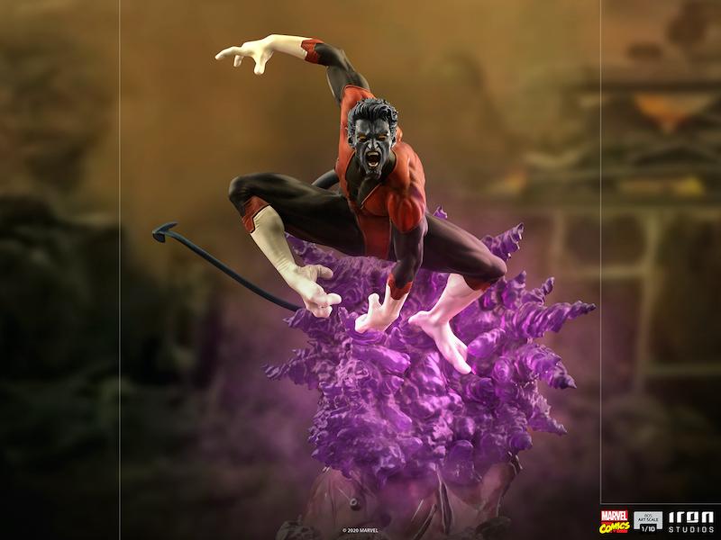 Iron Studios – Marvel Comics Nightcrawler 1/10 Scale Statue Pre-Orders