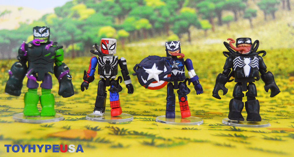 Diamond Select Toys Marvel Minimates – Walgreens Exclusive Spider-Man Maximum Venom Figures Review