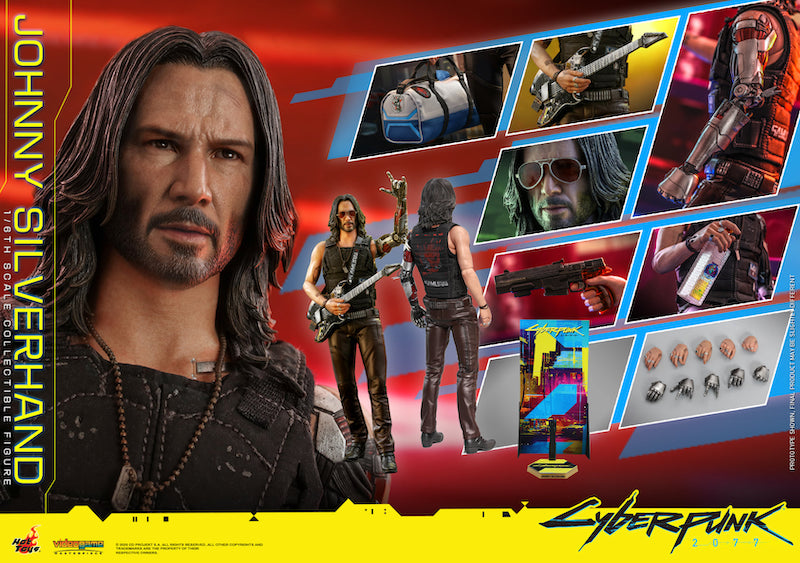 Hot Toys Cyberpunk 2077 Johnny Silverhand Sixth Scale Figure Pre-Orders