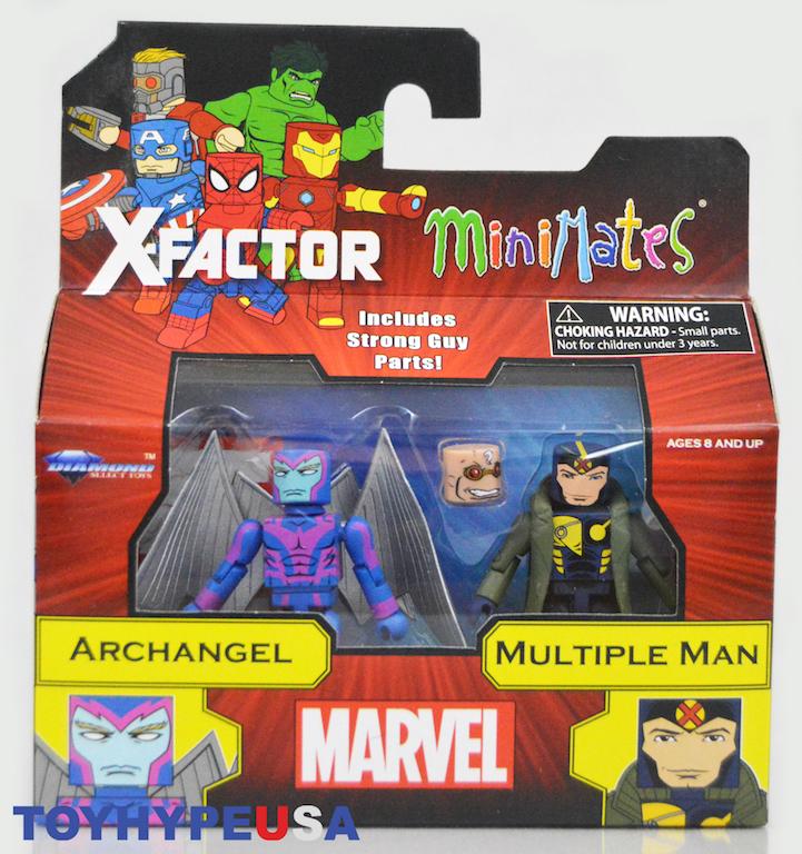 Marvel Minimates Series 78 X-Factor Beast