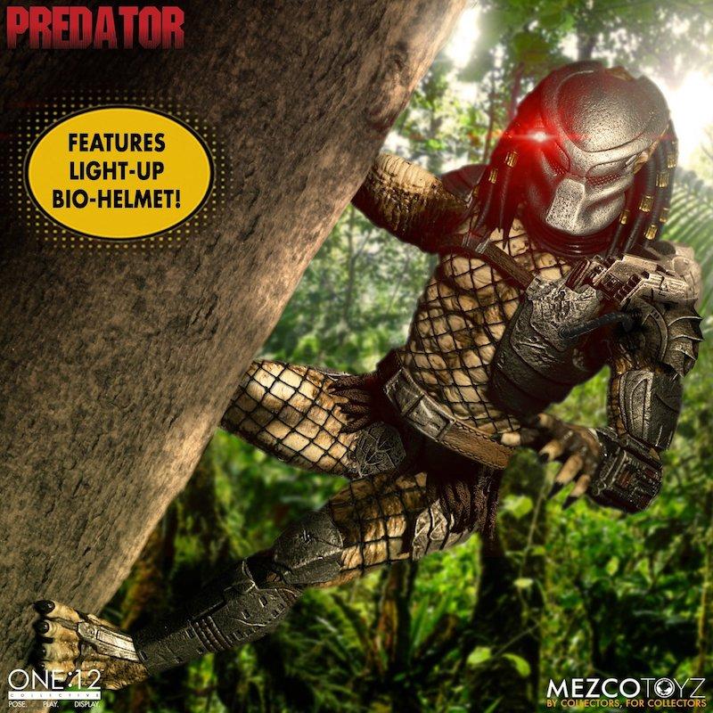 Mezco Toyz – Jungle Hunter Predator One:12 Collective Figure Pre-Orders