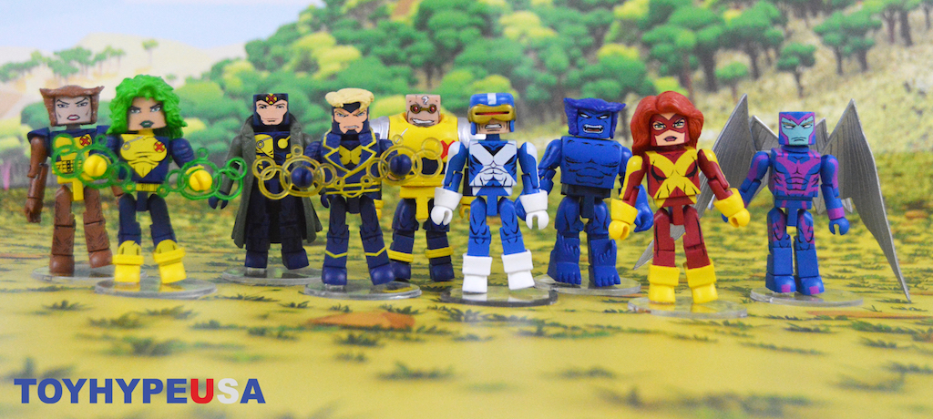 Diamond Select Toys Marvel Minimates X-Factor Series 78 Figures Review