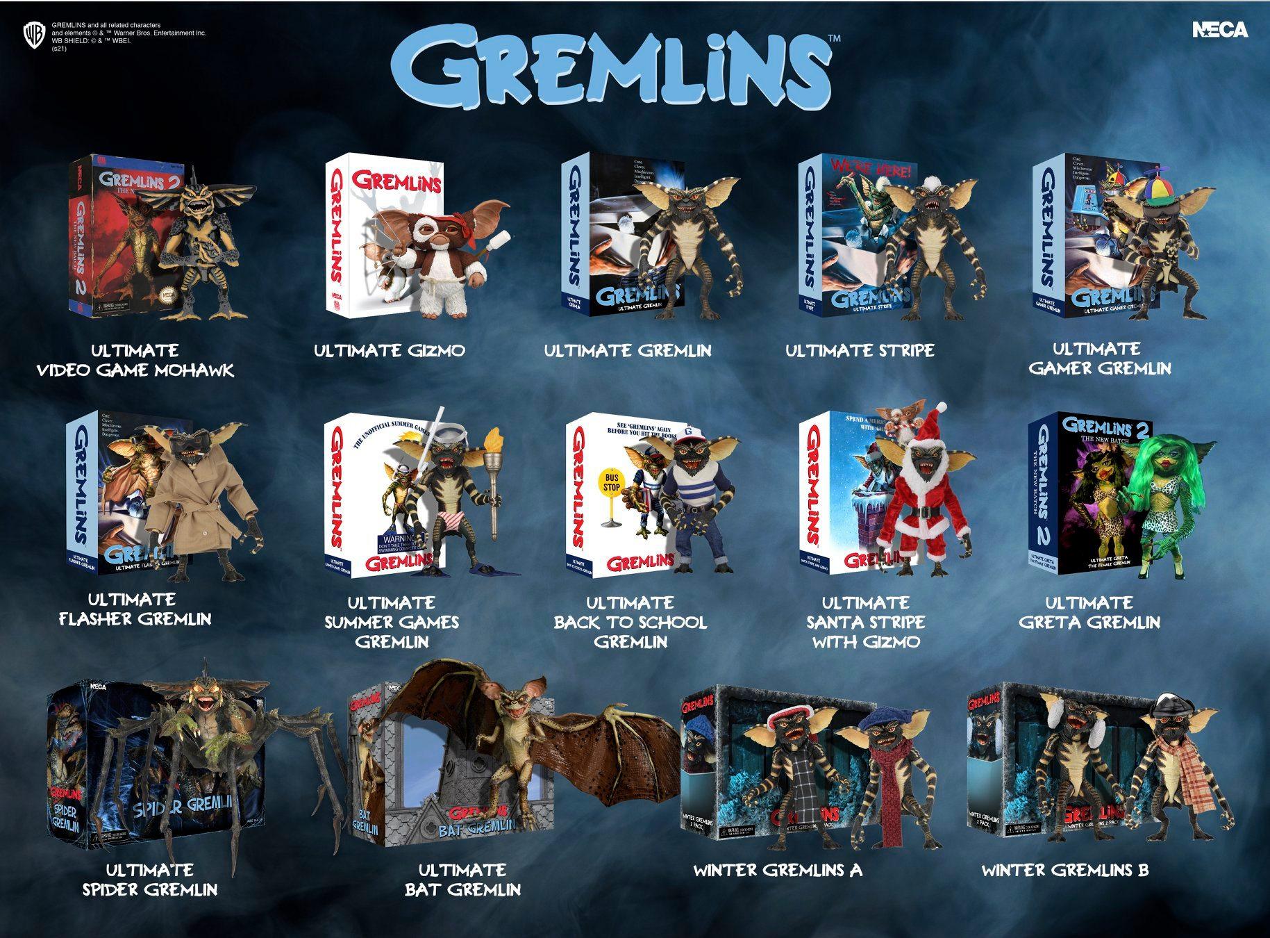 NECA Toys Gremlins 2020 Visual Guide